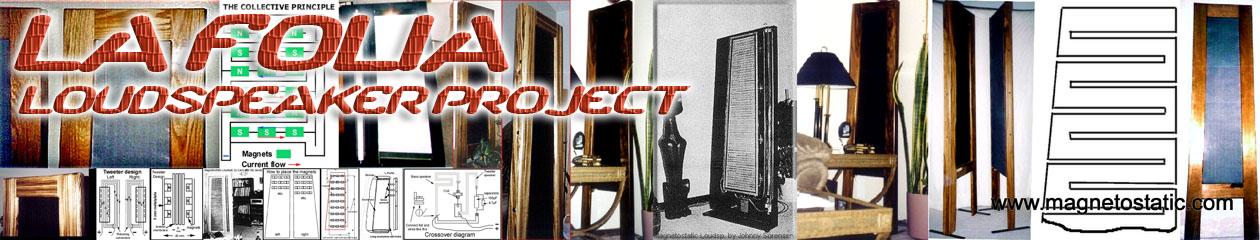 La Folia DIY Planar Magnetic Speakers